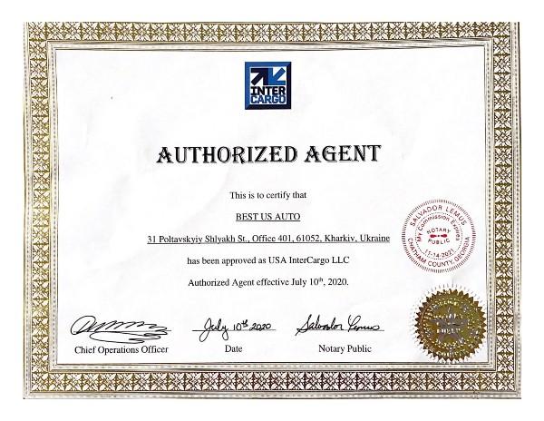 Мы – официальные представители USA InterCargo в Украине!