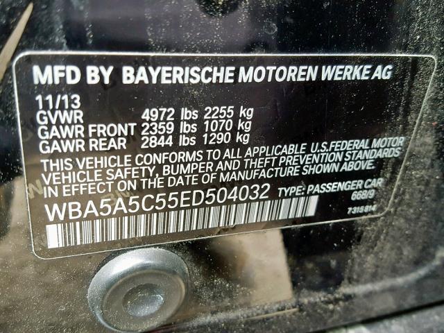 2014 BMW 528